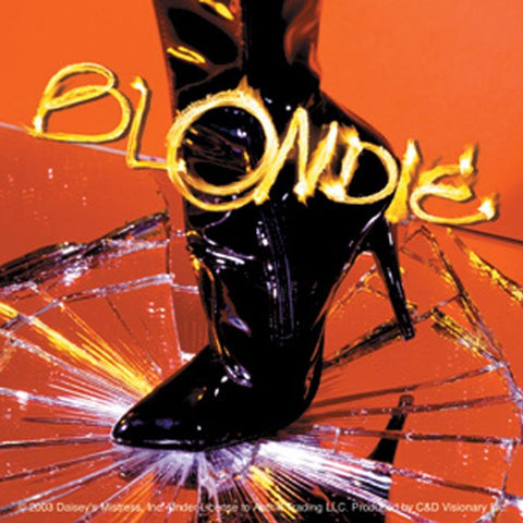 Blondie Boot Sticker