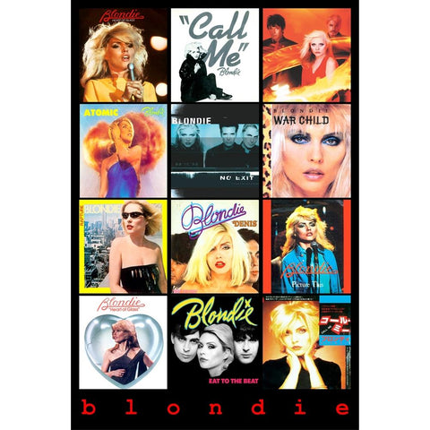 Blondie Covers Poster