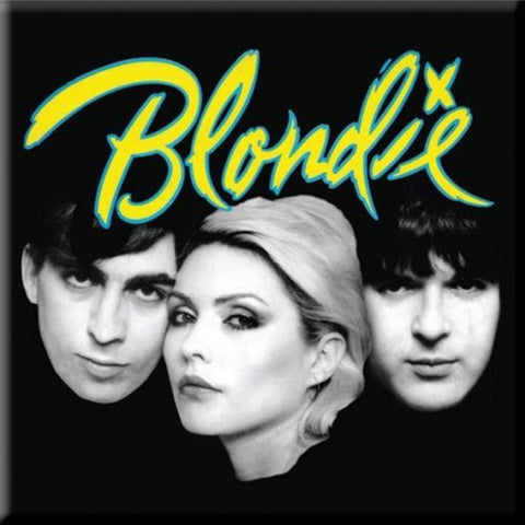 Blondie Eat To The Beat Yellow Logo Magnet