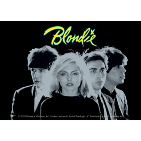 Blondie Group Photo Sticker