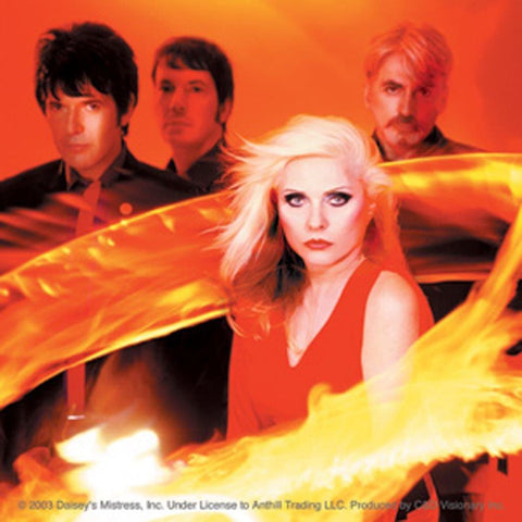 Blondie Ring of Fire Group Photo Sticker