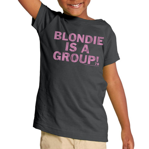 Blondie Is A Group Charcoal S/S Toddler T-Shirt