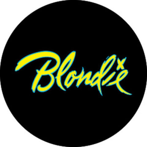 Blondie Logo Button