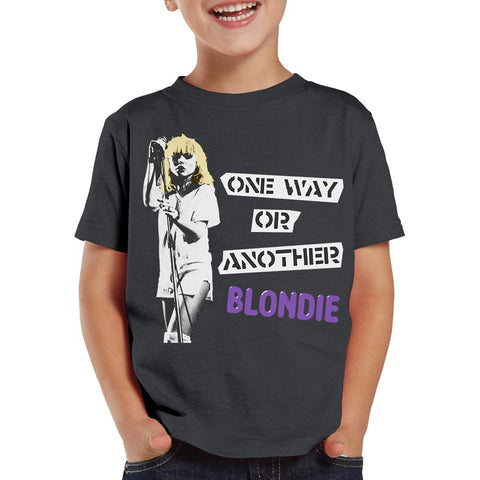 Blondie One Way Or Another Charcoal S/S Toddler T-Shirt