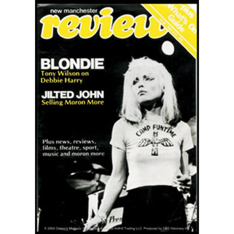 Blondie Review Magazine Cover Sticker