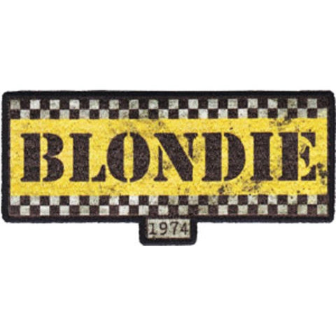 Blondie Taxi Logo Patch