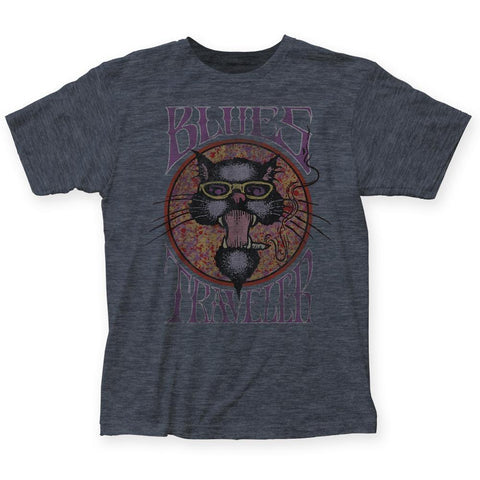 Blues Traveler Poster Men's Fitted T-Shirt