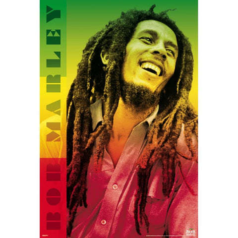 Bob Marley Colors Poster