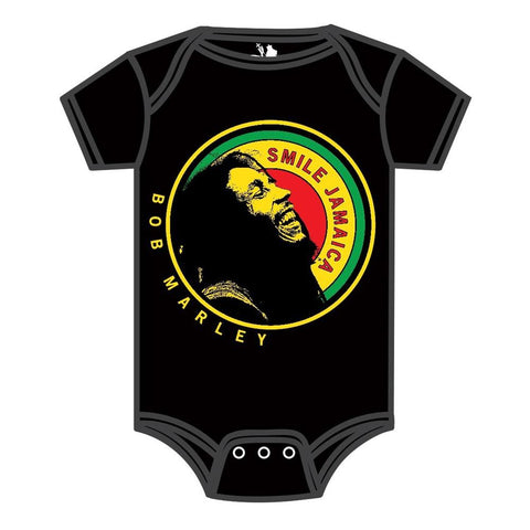Bob Marley Laughing Jamaica Infant One-Piece Bodysuit