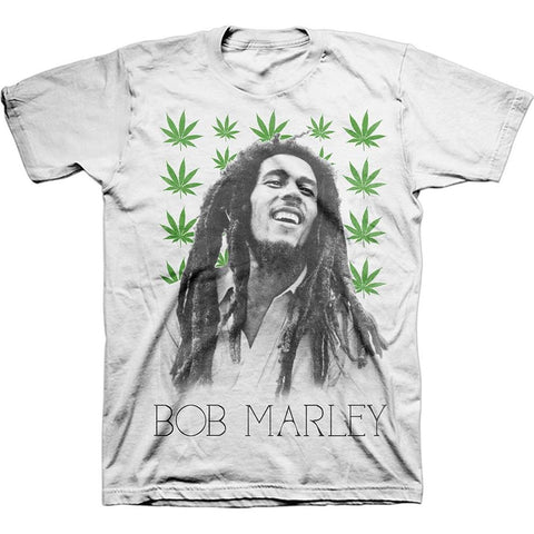 Bob Marley Leaves Men's T-Shirt