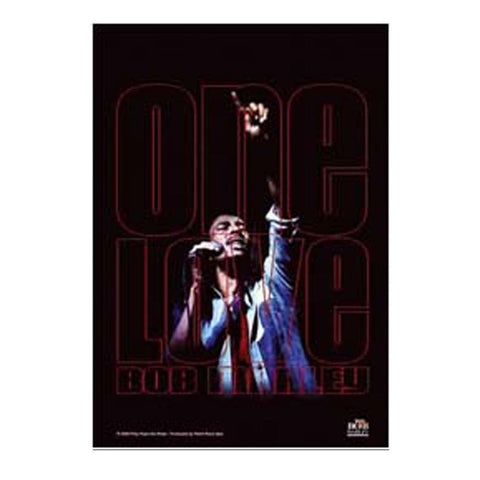 Bob Marley One Love Peace Concert Fabric Poster