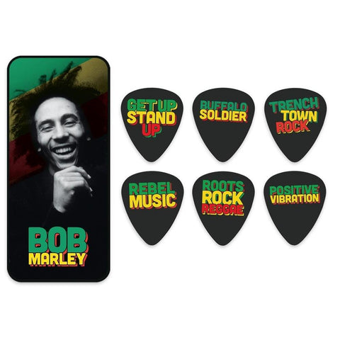 Bob Marley Quote Series Guitar Pick Tin