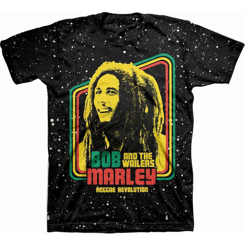 Bob Marley Reggae Revolution Men's T-Shirt