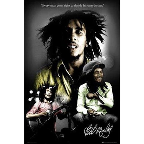 Bob Marley Right to Destiny Wall Poster