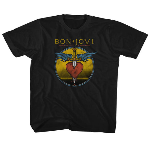 Bon Jovi Special Order Bad Name Toddler S/S T-Shirt