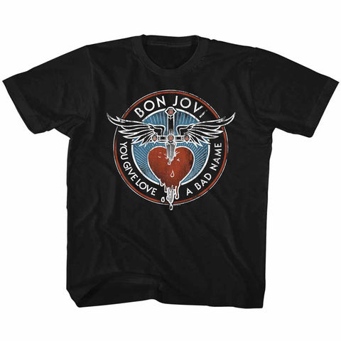 Bon Jovi Special Order Badname Youth S/S T-Shirt