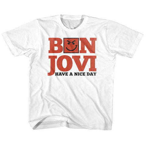 Bon Jovi Special Order Have A Nice Day Toddler S/S T-Shirt