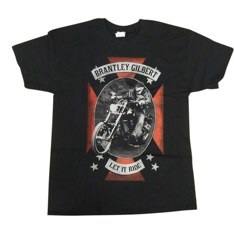 Brantley Gilbert Let It Ride Men's T-Shirt