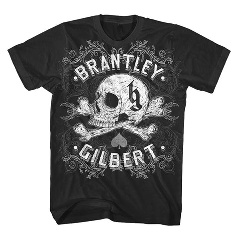 Brantley Gilbert Ornate Skull Men's T-Shirt