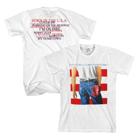 Bruce Springsteen Born In The USA Men's T-Shirt