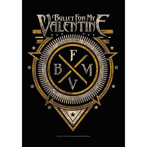 Bullet For My Valentine Emblem Fabric Poster