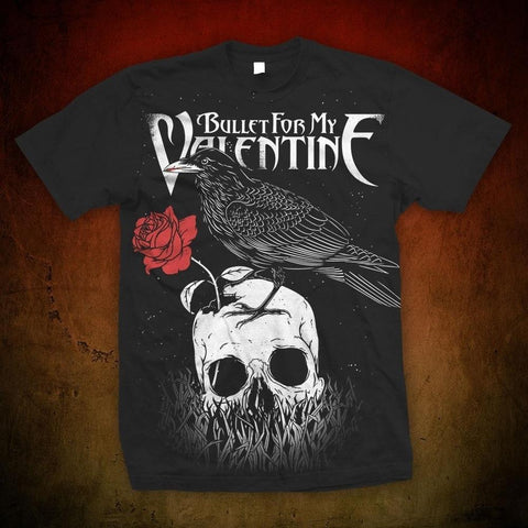 Bullet For My Valentine Raven Men's T-Shirt