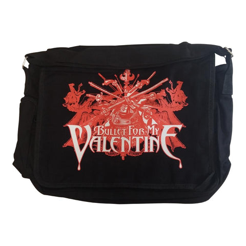 Bullet For My Valentine Sword Burst Messenger Bag