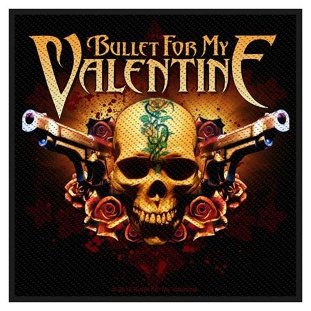 Bullet For My Valentine Two Pistols Patch Rockmerch