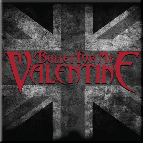 Bullet For My Valentine Union Jack Magnet