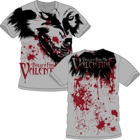 Bullet For My Valentine Werewolf All Over Men's Premium Soft T-Shirt
