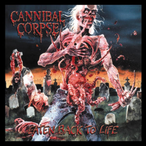 Cannibal Corpse Eaten Square Button