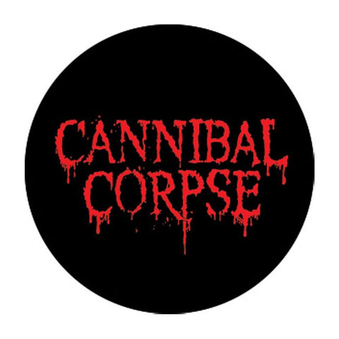 Cannibal Corpse 1 Inch Logo Button