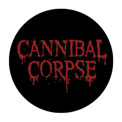 Cannibal Corpse Logo Button