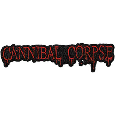 Cannibal Corpse Logo Embroidered Patch