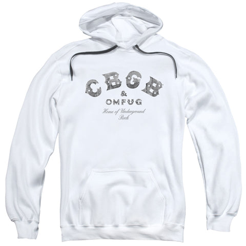 CBGB Special Order Club Logo Men's Pull-Over 75% Cotton 25% Poly Hoodie