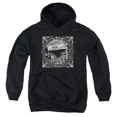 CBGB Special Order Front Door Youth 50% Cotton 50% Poly Pull-Over Hoodie