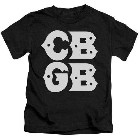 CBGB Special Order Stacked Logo Juvenile 18/1 100% Cotton Short-Sleeve T-Shirt