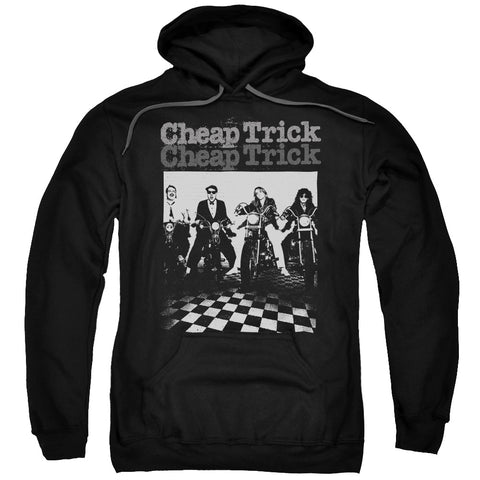 Cheap Trick Special Order Cheap Trick Bikes Men's Pull-Over 75% Cotton 25% Poly Hoodie