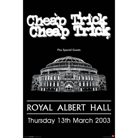 Cheap Trick Royal Albert Hall Poster