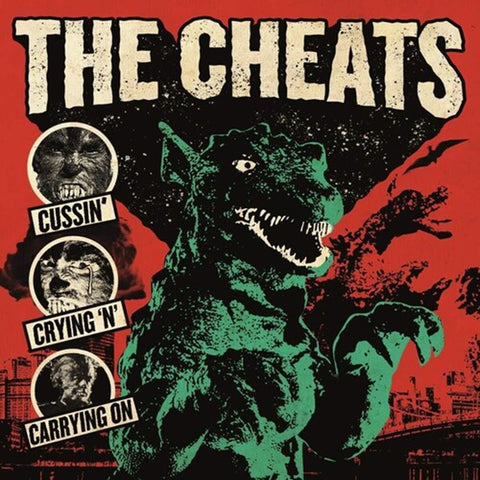Cheats - Cussin' Crying 'N' & Carrying On - Vinyl LP