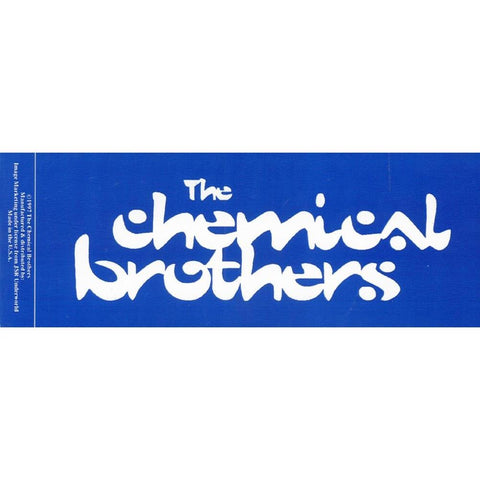 Chemical Brothers Sticker