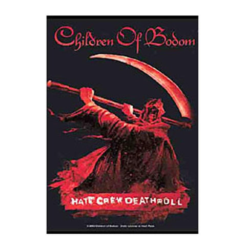 Children Of Bodom Hate Crew Fabric Poster