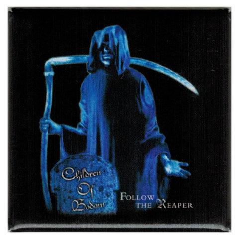 Children Of Bodom Reaper Square Button