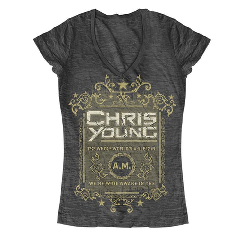 Chris Young The Whole World's A Sleepin Women's T-Shirt
