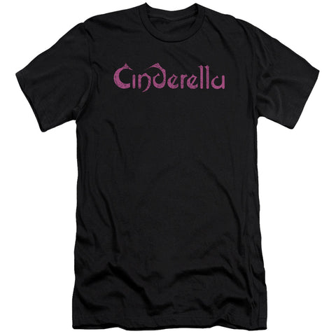 Cinderella Special Order Logo Rough Men's Premium Ultra-Soft 30/1 100% Cotton Slim Fit T-Shirt - Eco-Friendly - Made In The USA
