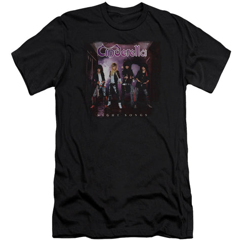 Cinderella Special Order Night Songs Men's Premium Ultra-Soft 30/1 100% Cotton Slim Fit T-Shirt - Eco-Friendly - Made In The USA