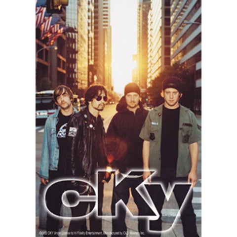 CKY Group Photo Sticker