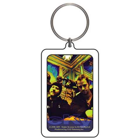 CKY Yellow Group Photo Lucite Keychain