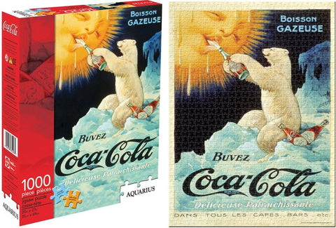 Coca-Cola Bear 1000 Piece Puzzle