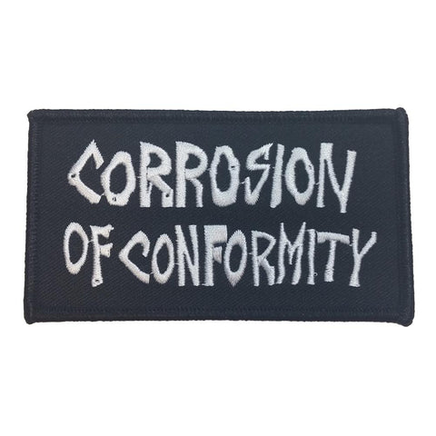 Corrosion Of Conformity Logo Embroidered Patch